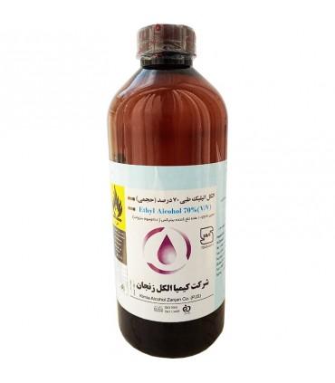 الکل طبی کیمیا الکل مدل 70درصد