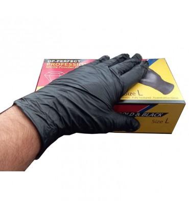 دستکش نیتریل مشکی اپی پرفکت سایز بزرگ